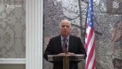 McCain u Podgorici: Ponašanje Rusije je neprihvatljivo