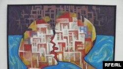 """""""Сүйүү"""" - Австриядагы кыргыз сүрөтчүсү Асатилла Тешебаевдин чыгармасы"""