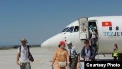 """Аэропорт """"Тамчи""""."""
