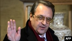 "Russian Deputy Foreign Minister Mikhail Bogdanov says Russia could host ""informal"" Syrian talks."