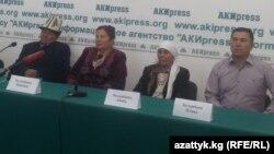 Сактан Келдибаевдин туугандары маалымат жыйында. 10-октябрь, 2014.