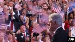 بیل کلینتون از نامزدی سناتور اوباما حمایت کرد.(عکس از AFP).