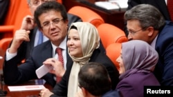 Ruling AK Party lawmakers in Turkey