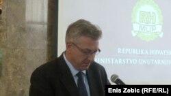 Ministar unutarnjih poslova Ranko Ostojić govori o uzrocima smrti navijača Hajduka, 7. svibanj 2013.