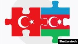 Azərbaycan-Türkiyə bayraq tapmacası (arxiv)