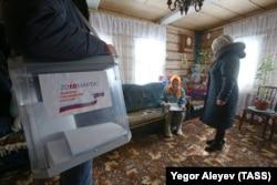 Голосование на дому в Татарстане