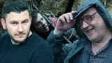 Дмитрий Глуховский и Максим Суханов, коллаж