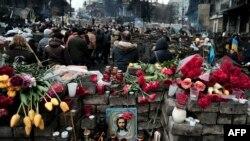 Майдони Истиқлоли Киев. 23.02.2014