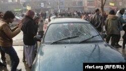 Взрыв у армейского автобуса в Кабуле, 26 января 2014