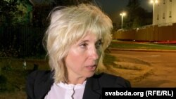 Belarusian opposition lawyer Lyudmila Kazak