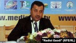 Асадулло Рахмон, председатель комитета по телевидению и радио, 9 января 2015 года.