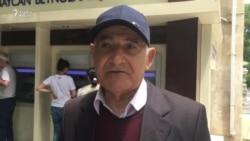 """Pensiyaçı:""""Yaşanası ölkə deyil"""""""