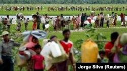 Refugjatër Rohingya.