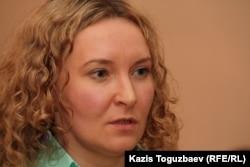 """Татьяна Трубачева, """"главный читатель"""" газеты """"Рипаблик""""."""