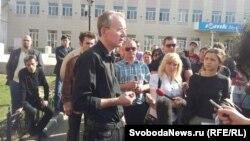 Галадоўка прыхільнікаў Алега Шэіна ў Астрахані