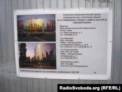 Проект розважального комплексу у Дніпропетровську до Євробаскет