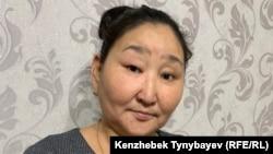Анаргуль Калиакбарова, участница Декабрьских событий 1986 года в Алматы. 11 декабря 2019 года.