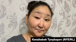 Анаргүл Қалиақбарова (Садықова), 1986 жылғы Желтоқсан оқиғасына қатысушы. Алматы, 11 желтоқсан 2019 жыл.