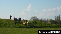 Неподалеку от Белой скалы упал гироплан, Крым, 1 мая 2021 года