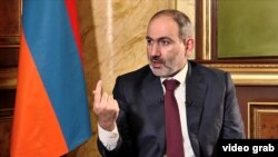 Armenian Prime Minister Nikol Pashinian (file photo)