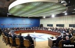 Заседание министров иностранных дел НАТО в Брюсселе. 1 апреля