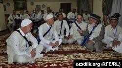 Узбекские паломники. Иллюстративное фото.