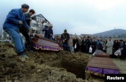 Bosko Brkic and Admira Ismic are buried in Lions Cemetery in Sarajevo.