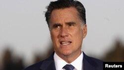 АҚШ президенттігіне үміткер Митт Ромни. Иерусалим, 29 шілде 2012 жыл.