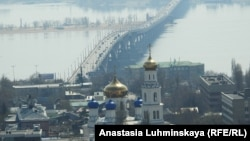 Мост через Волгу Саратов – Энгельс