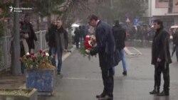 Vučić položio venac za Olivera Ivanovića