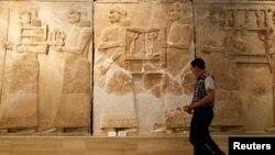 داخل أروقة المتحف الوطني العراقي