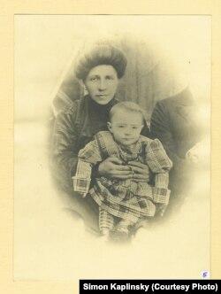 Мойша Каплінскі, тата Саймана, з маці Малкай