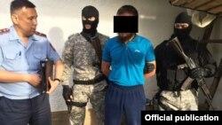 Задержание подозреваемого в «экстремизме» в Южно-Казахстанской области. Иллюстративное фото.