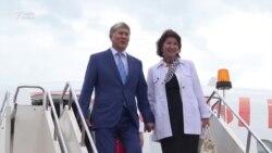 Кыргызстан президенты Уфага килде