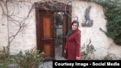 Таджикская журналистка Харамгул Кодир.