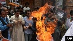 Пропакистанські протестувальники у Кашмірі, фото архівне