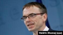 Міністар замежных спраў Эстоніі Свэн Міксэр