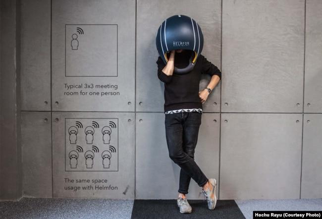 Американці захоплені шоломом для офісу, розробленим в Україні