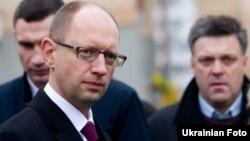 Арсеній Яценюк, Віталій Кличко, Олег Тягнибок