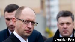 Віталь Клічко, Арсеній Яцэнюк, Алег Цягнібок