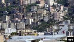 Qatar Airways-in təyyarəsi Beyruta enir
