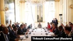 Состанок за ситуацијата со мигрантите од африка, Париз, 28.08.2017.