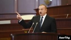 Prezident İ.Əliyev VI çağırış Azərbaycan Respublikası Milli Məclisinin ilk iclasında. 10 mart 2020