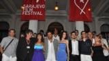 Ekipa filma Cirkus Columbia na Sarajevo Film Festivalu, 31. jul 2010.