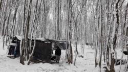 Surova zima za migrante u šumi kod Velike Kladuše