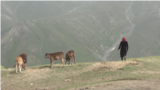 Tajikistan - remote villages in Yaghnob Gorge, located some 3,000 meters above sea level - screen grab
