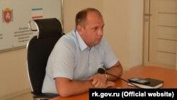 Сергей Донец, министр ЖКХ российского правительства Крыма