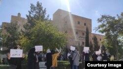 Protesta e grave në Sanandaj, 6 tetor 2021.
