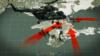 Колаж. Висадка російських десантників 15 березні 2014 року на Арабатській стрілці в Херсонській області