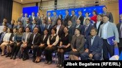 """Альянс"" партиясы курултайын өткөрдү. 12-октябрь, 2021-жыл. Бишкек"
